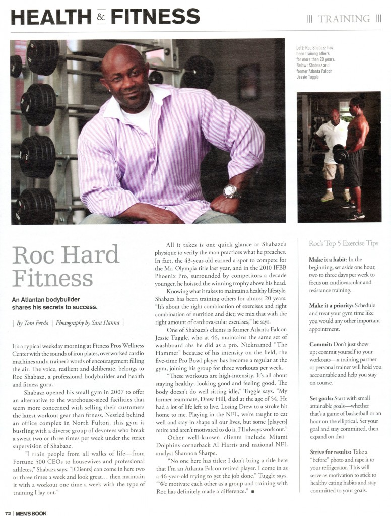 Mens Book Roc Shabazz