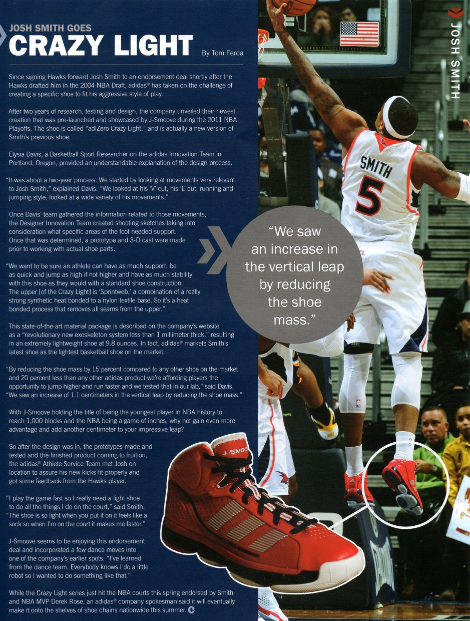 Josh Smith 360 Hawks Magazine